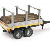 Aanhanger voor houttransport  2
