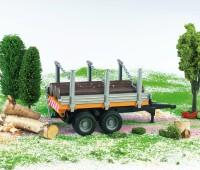 Aanhanger voor houttransport  1