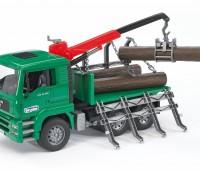 MAN vrachtwagen voor houttransport 2
