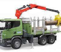 Scania vrachtwagen voor houttransport 2