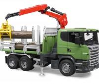 Scania vrachtwagen voor houttransport 3