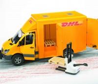 MB DHL pakketservice bus 3