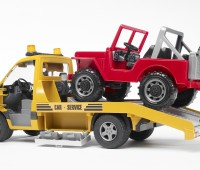 Mercedes-Benz oprijwagen met Jeep 3