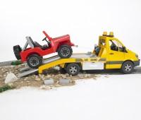 Mercedes-Benz oprijwagen met Jeep 2