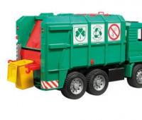MAN TGA vuilniswagen groen 1