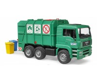 MAN TGA vuilniswagen groen 2