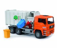MAN vuilniswagen met zijlader 1