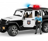 Jeep Politieauto met agent 1