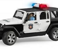 Jeep Politieauto met agent 2