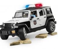Jeep Politieauto met agent 3