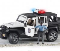 Jeep Politieauto met politieagent 1