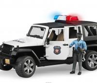 Jeep Politieauto met politieagent 2
