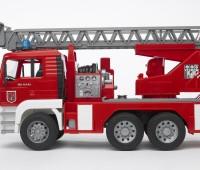 MAN brandweer ladderwagen 2