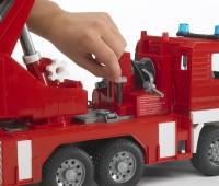 MAN brandweer ladderwagen 3