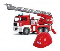MAN TGA brandweerwagen met rode helm 1