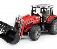 Massey Ferguson 7480 tractor met voorlader 1