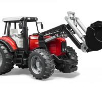 Massey Ferguson 7480 tractor met voorlader 3