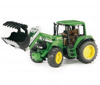 John Deere 6920 tractor met voorlader 2