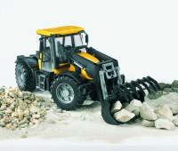 JCB Fastrac 3220 tractor met voorlader 1