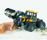 JCB Fastrac 3220 tractor met voorlader 3
