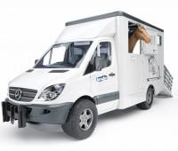Mercedes-Benz Sprinter paardentrailer 2