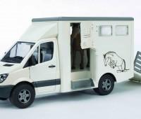 Mercedes-Benz Sprinter paardentrailer 3