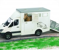 Mercedes-Benz Sprinter paardentrailer 1
