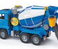 MAN vrachtwagen met betonmixer 2
