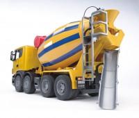 Scania R-serie vrachtwagen met betonmixer  3