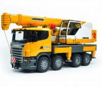 Scania R-serie Liebherr hijskraan 2