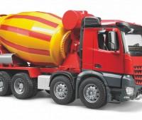 Mercedes-Benz Arocs Vrachtwagen met betonmixer 2