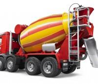 Mercedes-Benz Arocs Vrachtwagen met betonmixer 3