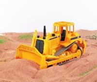CAT bulldozer met rupsbanden 1