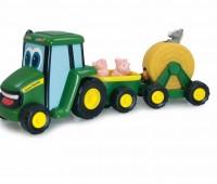 Johnny Tractor en aanhangers met dieren 1