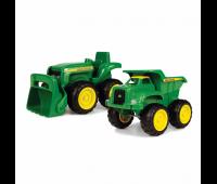 Set van John Deere Tractor en Dumper 1