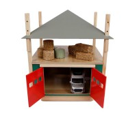Hooischuur met verstelbaar dak 1