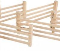 8 houten hekken 1
