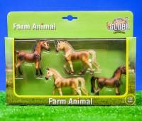 Set van 4 paarden 1