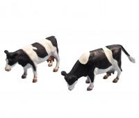 Set van 2 zwartbonte staande koeien 2