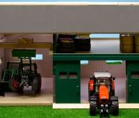 Tractorwerkplaats en schuur 1
