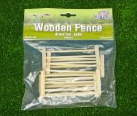 6-delig houten hek voor weide 2