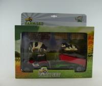 Set van tractor met kipper en accessoires 1