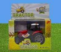 Rode tractor met licht en geluid 1
