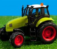 Groene tractor met licht en geluid 1