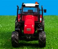 Rode tractor met licht en geluid 2
