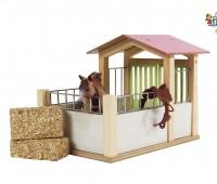 Compacte houten paardenstal  1