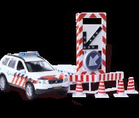 Politieauto Volvo C90 met bebakeningswagen  1