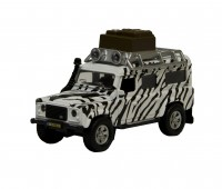 Land Rover Defender Safari (wit) 1