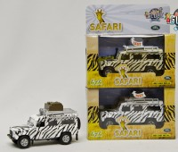 Land Rover Defender Safari (wit) 2
