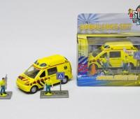 Ambulance met 2 broeders 1